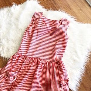 Vintage Candy Striper Dress